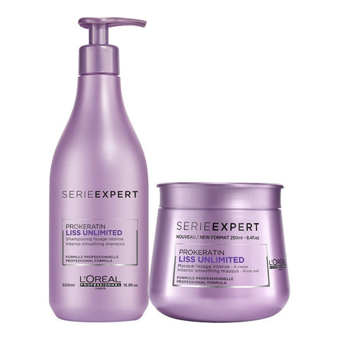 L'Oréal Liss Unlimited duo