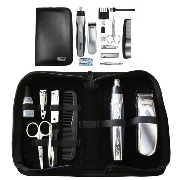 Wahl Traditional Barbers trousse de toilette de voyage lithium