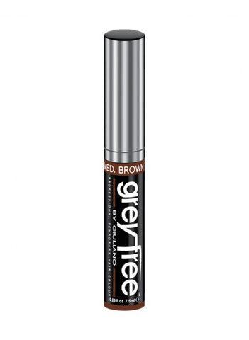 Grey Free medium brown hair mascara