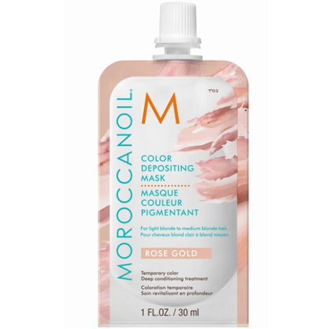 Moroccanoil Masque Couleur Pigmentant Or Rose