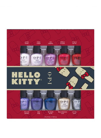 OPI Hello Kitty ensemble mini vernis