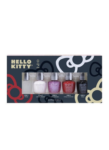 OPI Hello Kitty ensemble mini vernis Infinite Shine