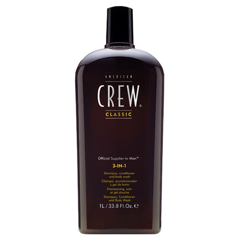 American Crew 3-in-1 shampooing, soin et gel douche