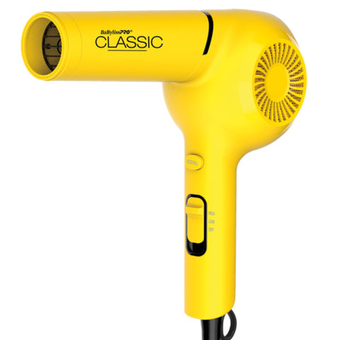Babyliss Pro Classic yellow hair dryer