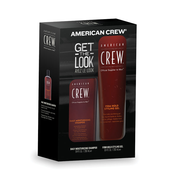 American Crew duo shampooing hydratant et gel de coiffage