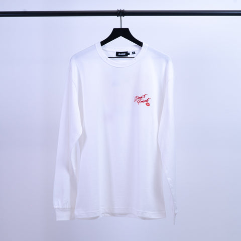 "L/S Tee "" Dont Front"""