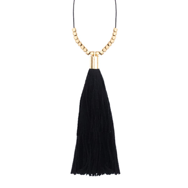 COMMODORE TASSEL NECKLACE