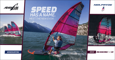 Speed Has a New Name. EvoXI by NeilPryde Windsurfing