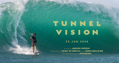 Register for 'Tunnel Vision' and win a Cabrinha Drifter