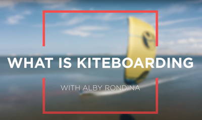 All about Kitesurfing with Alby Rondina