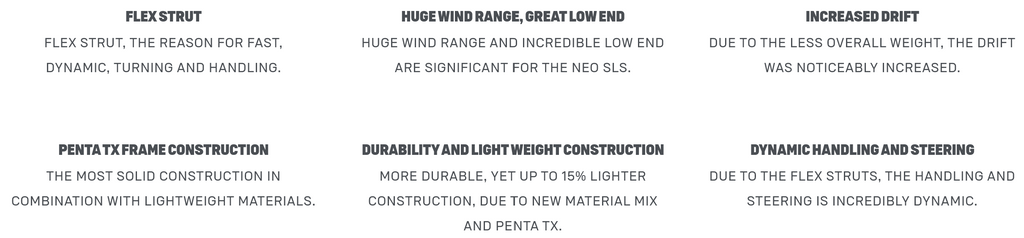 2021 Neo SLS Technical Specifications