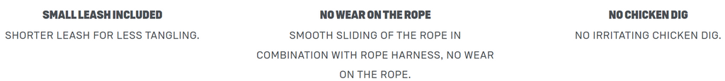 Duotone Rope Harness Loop Technical Features