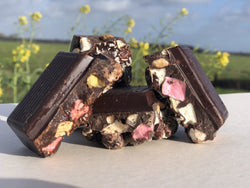 Rocky Road Brokken pure chocolade