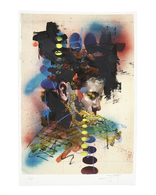 "John Wentz - ""Chromatic Study No. 2"" print"