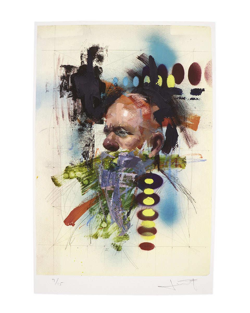 "John Wentz - ""Chromatic Study No. 1"" print"