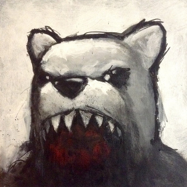"""Untitled (Angry Bear)"""