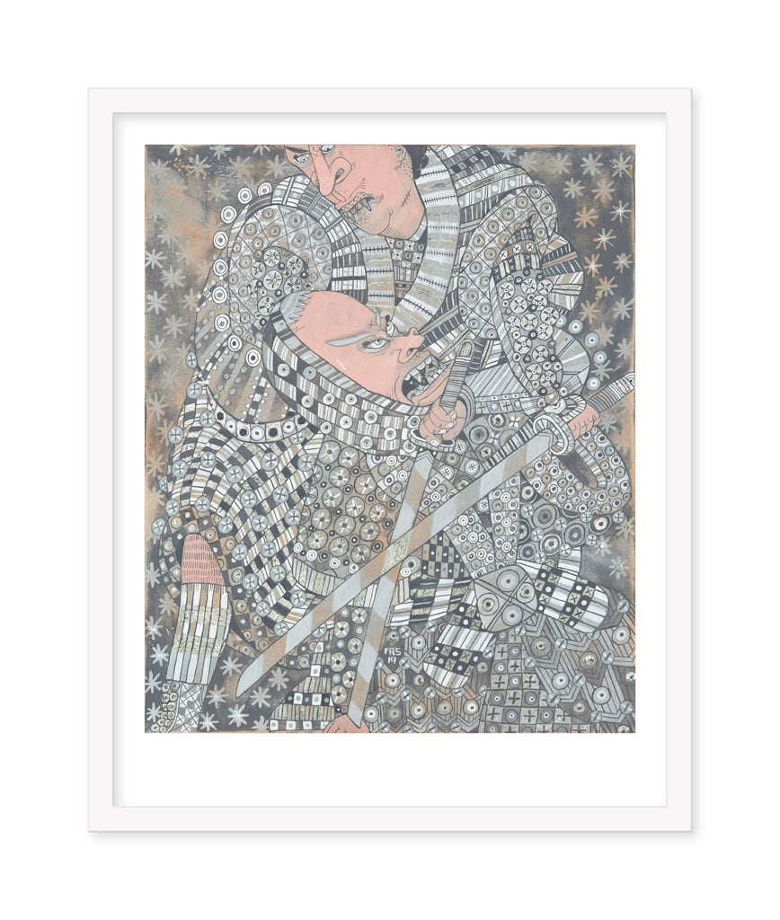 "Ferris Plock - ""Are You Threatening Me"" print"