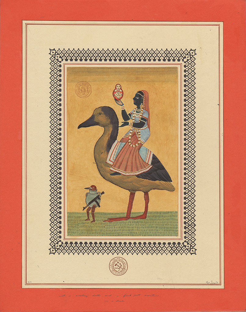 "Ravi Zupa - ""On A Duck With A Nesting Doll"""