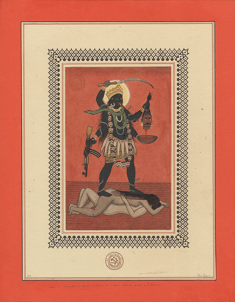 "Ravi Zupa - ""With A Sword, A Head, A Bowl And An AK 47"""