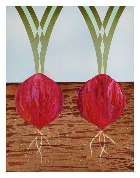 """Two Red Onions"""