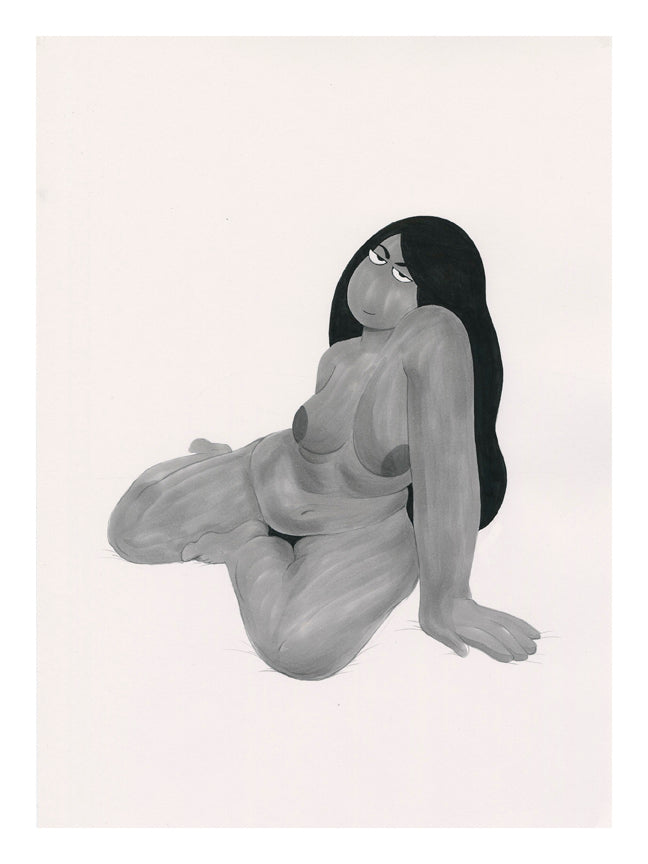 "Miranda Tacchia - ""When He Finally Moves Out"" print"