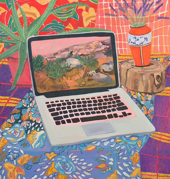 """Laptop with Landscape"""