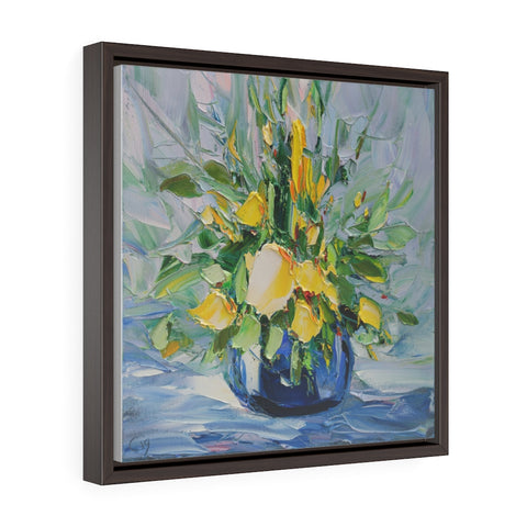 Summer Bouquet (Летний Букет) - Framed Gallery Wrap Canvas Print