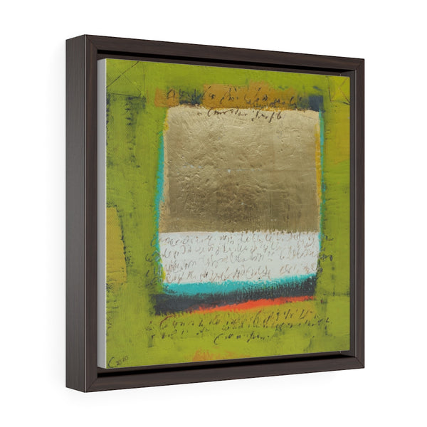 Golden Paiza (Золотая Пайза) - Framed Gallery Wrap Canvas Print