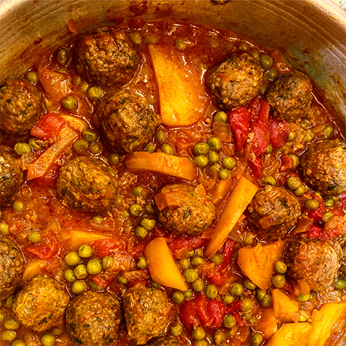 A Mediterranean spin on Meatballs-Dependable Food