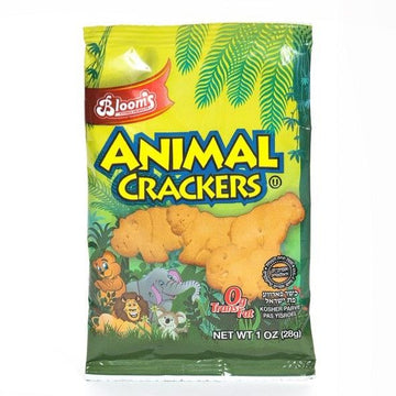 1 Oz Animal Cookies 80 Per Case.
