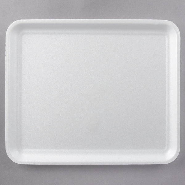 "9 x 12"" White Foam Tray 250 Per Case"