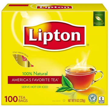 Lipton Tea Bags 100 Count 12 Per Case