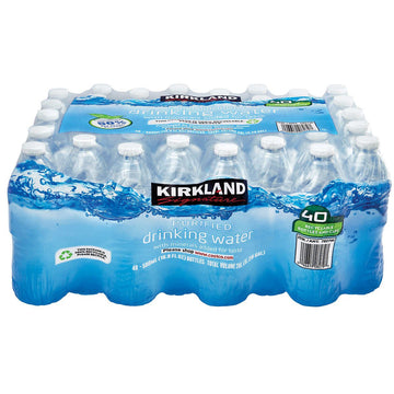 16.9 Oz Purified Water 40 Per Case