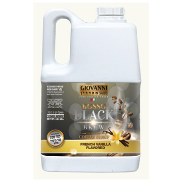 Half Gallon French Vanilla Liquid Coffee 3 Per Case