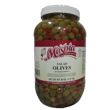 1 Gal Green Salad Olives 4 Per Case.