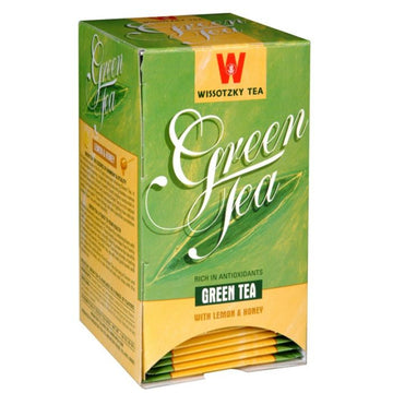 Lemon-Honey Green Tea (Ind. Wrapped) 12 Boxes Per Case.