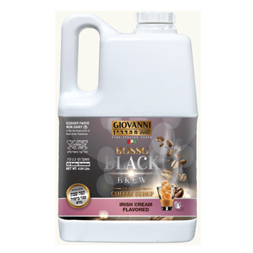 Half Gallon Irish Cream Liquid Coffee 3 Per Case