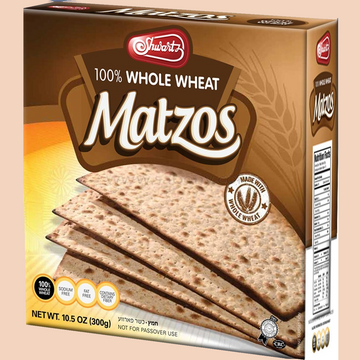 10.5Oz Whole Wheat Matza 24 Per Case