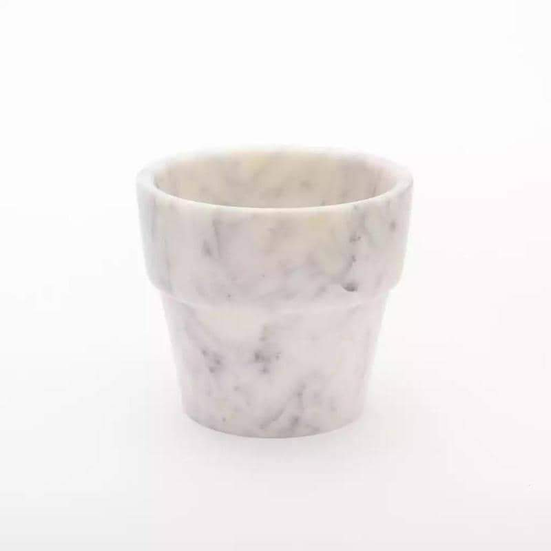 Large White Marble Pot