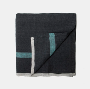 Laundered Linen Napkin, Blue