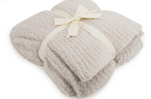 Load image into Gallery viewer, Cozy Chic Ribbed Throw, Almond