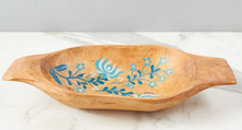 Load image into Gallery viewer, Blue Folklore Dough Bowl