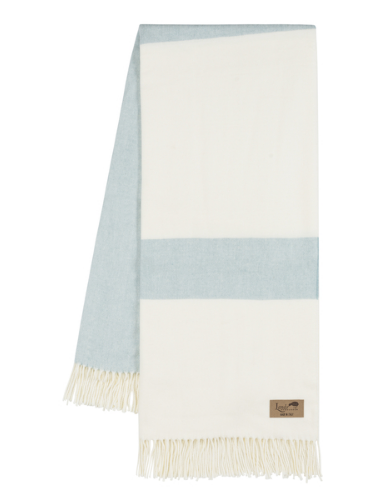 Glacier Stripe Throw