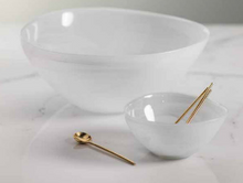 Load image into Gallery viewer, White Alabaster Serving Bowl