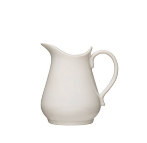 Antique White Pitcher, 36oz