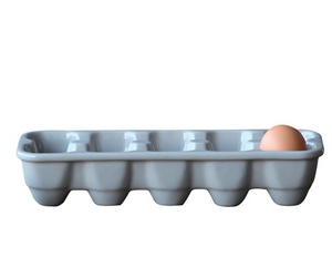 Grey Egg Crate