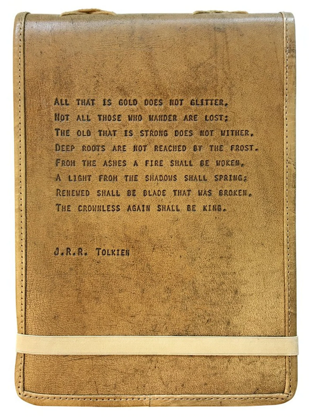 Leather Journal - J.R.R. Tolkien