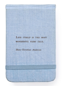 Farbic Notebook - Hans Christian Anderson