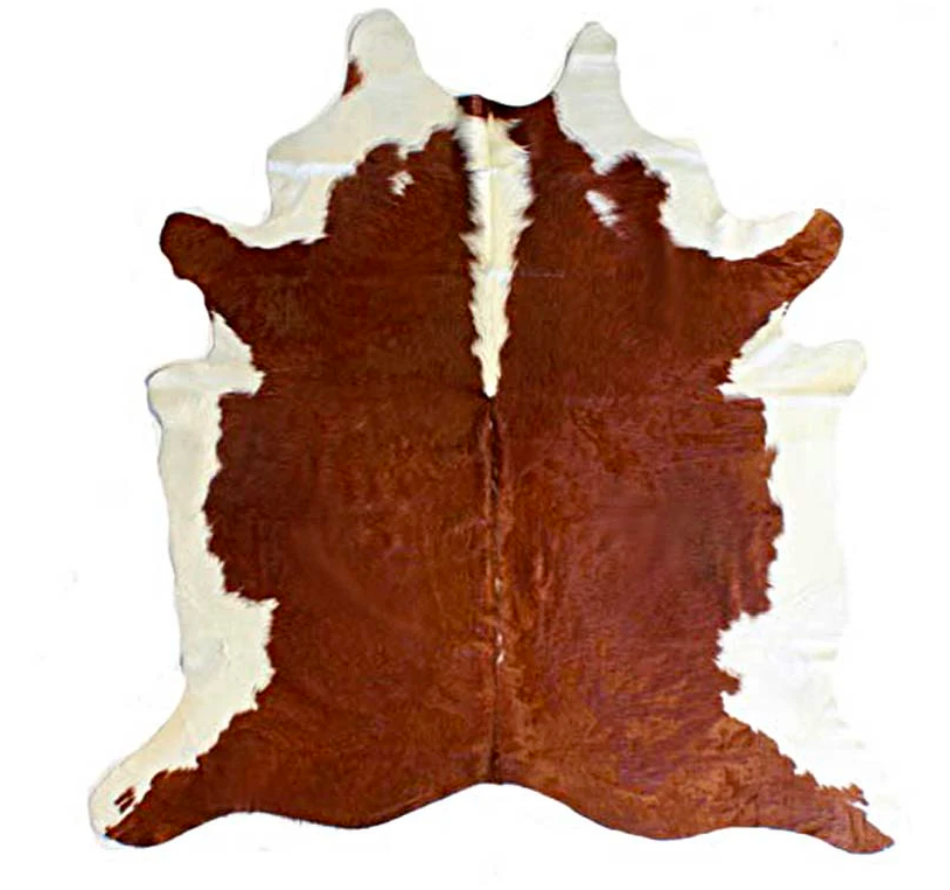 Large Brown & White Hide