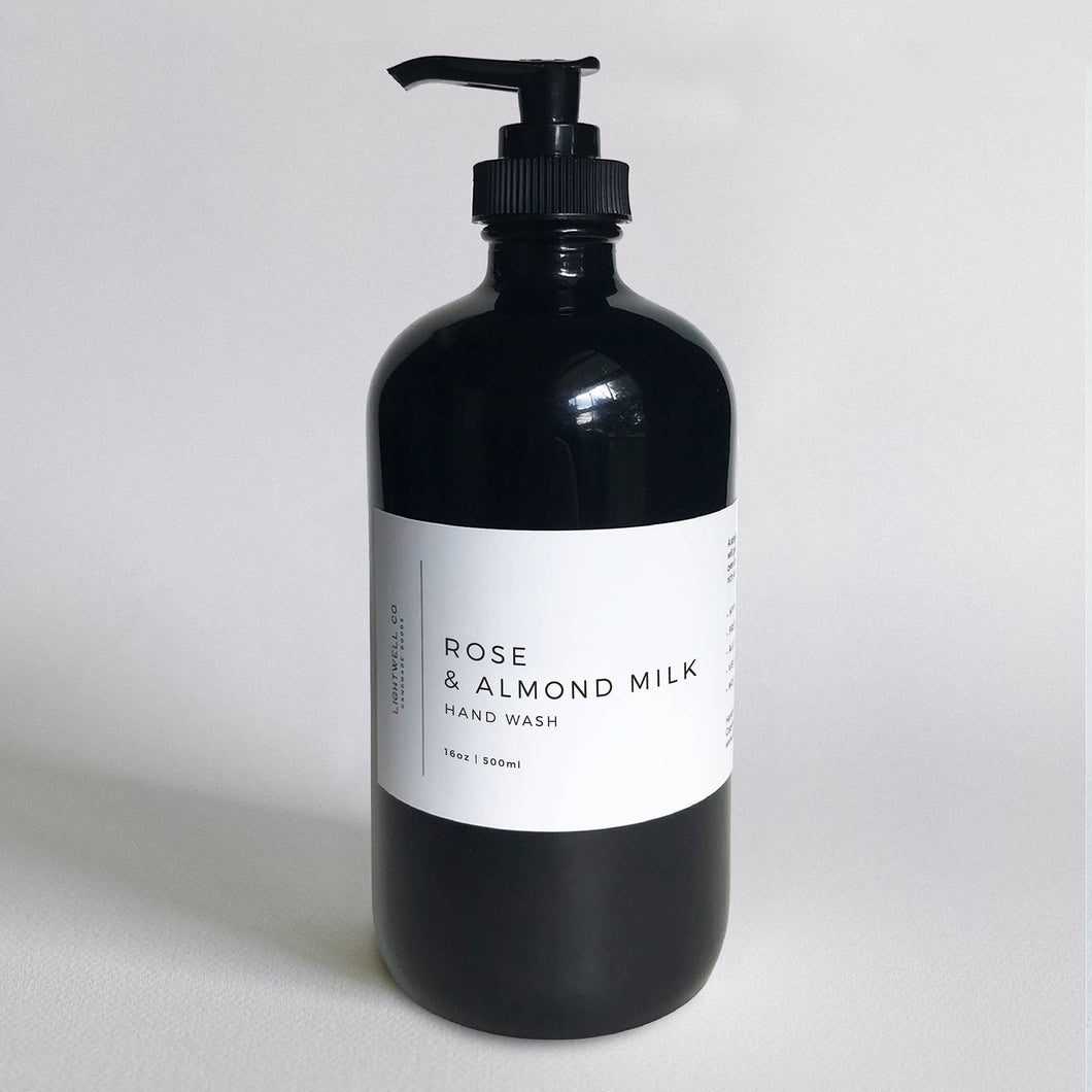 Rose & Almond Milk Hand Wash